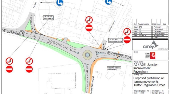 Reject the inadequate proposals for the Junction of The Mall and the A2