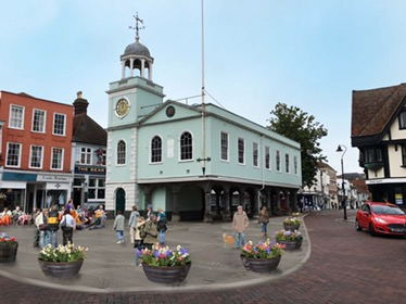 Faversham Guildhall in Bloom