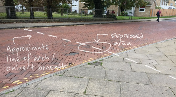 Stone Bridge Pedestrian Crossing – road damage creates an opportunity to act