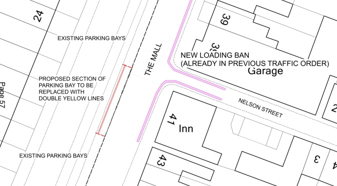 Inadequate proposals for crossing The Mall