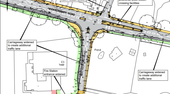A2/A251 junction design – not nearly good enough